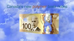 New Bank of Canada $100 Polymer Note - Front