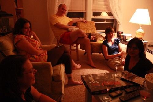Ann, Anne, Chris, Kristi, and Vani