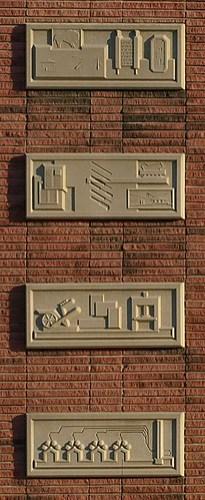 Wichita Eagle Building detail