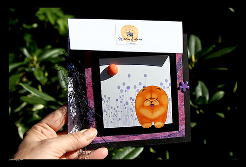 Squash Blossom framable art card and pendant set/card and envelope by you.