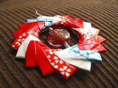 Origami Pendant - Cherry Blossom Picnic 2