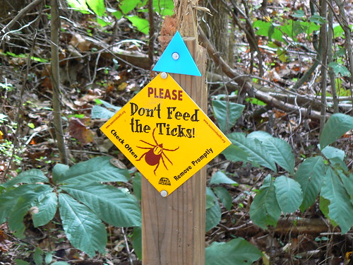 Dismal Swamp State Park - Do Not Feed Ticks