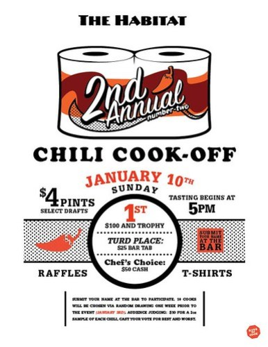 Habitat Chili Cook-Off