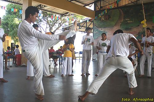 Capoeira Oxalá 11 por você.
