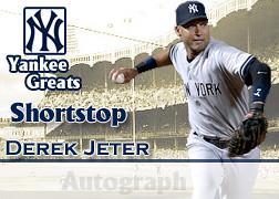 Jeter Autograph card