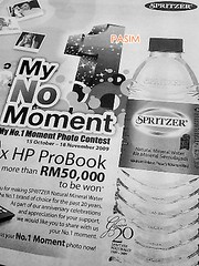 Spritzer My No 1 Moment contest
