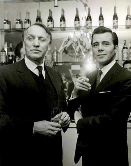 Losey & Bogarde