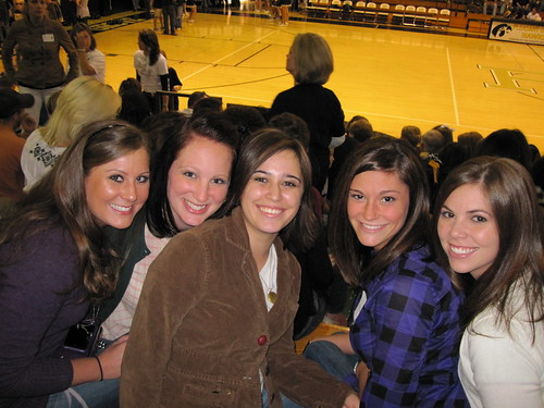 Sweet Friends from high school (Anna, Rachel, Me, April, and Heather)