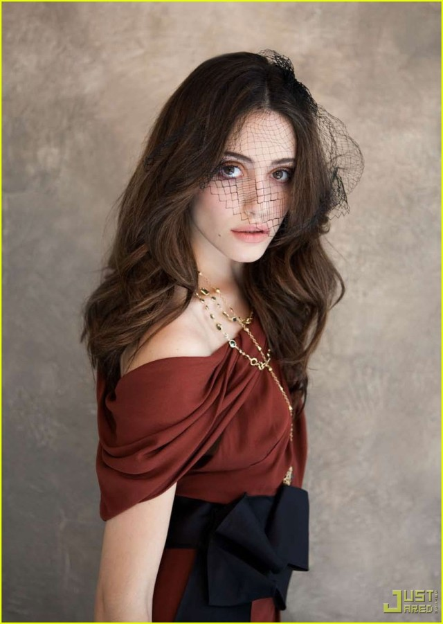 Emmy Rossum Covers 2 Magazine 4