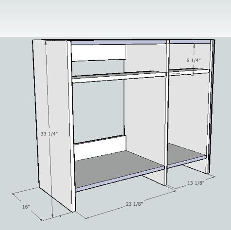 cabinet making kitchen