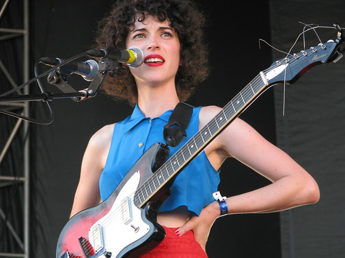 St. Vincent at All Points West; photo by Jillian Mapes