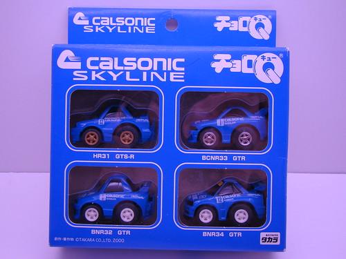 Choro Q Calsonic Skylines (1)