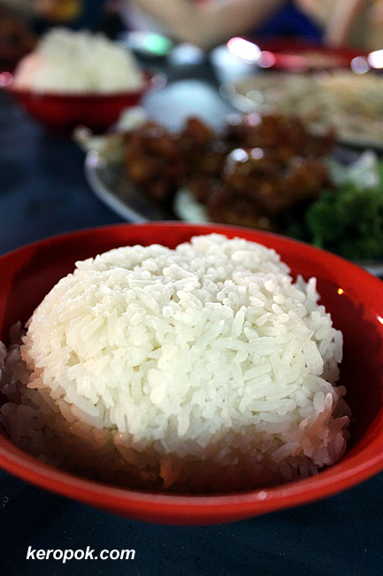Peng Tang - Rice containers like me need to eat rice!