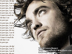 Wallpaper:  Robert Pattinson:  In Your Eyes [1024 x 768]