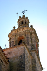 Torre campanario de la iglesia parroquial de San Zoilo