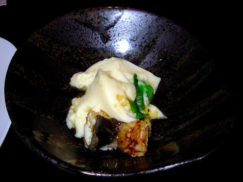 Delicious Egg Custard With Unagi Eel