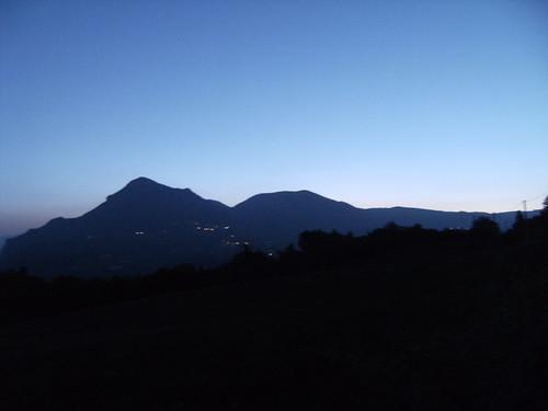 alba sul corno d'acquilio