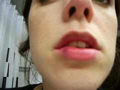 Owwwww - fat lip. I am an idiot.