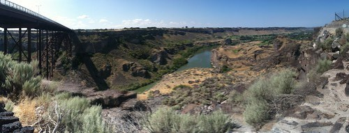 Snake River Gorge - Twin Falls, Idaho