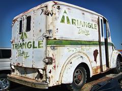 Triangle Dairy Truck