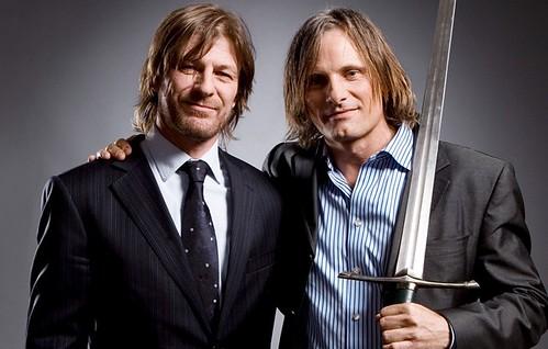 """SEAN BEN & VIGGO MORTENSEN """"Lord Of The rings"""" (Boromir y Aragorn)"""
