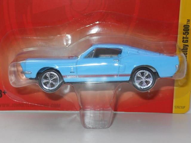 johnny Lightning 1968 shelby gt-500 baby blue (2)