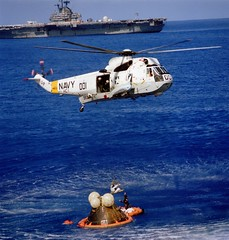 Apollo 17 Splashdown (s10trav) Tags: nasa apollo apollo17