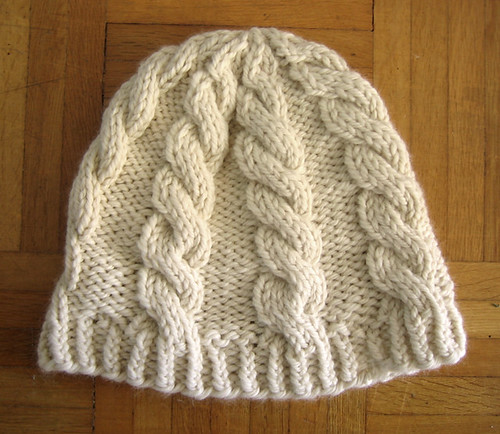 Dog Antler Hat Knitting Pattern : How to Cable Tin Can Knits