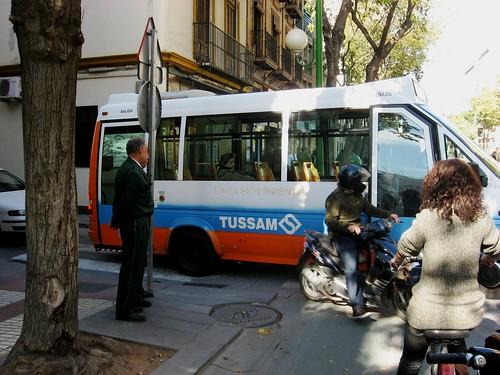 Microbus experimental Sevilla Tussam