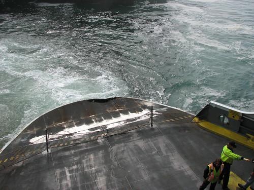 Dent in Wenatchee Ferry from Collision