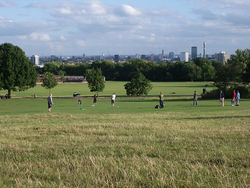 Amazing view from the Heath