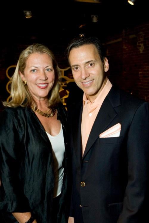 Suzanne Tucker and Alan Malouf