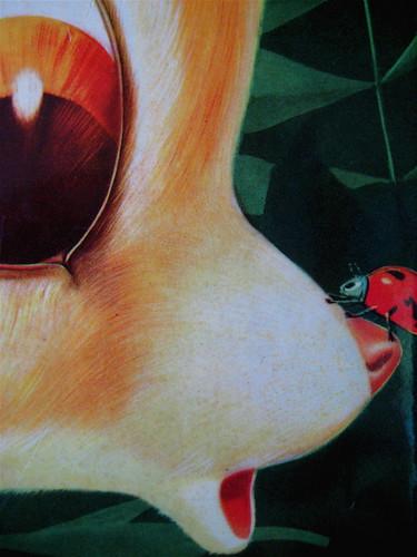 Felix Salten, Bambi, Illustrazioni di A. Frigerio e S. Rizzato, ©Garzanti 1960, copertina (part.)