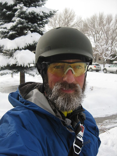 15 minutes of riding at -4 F