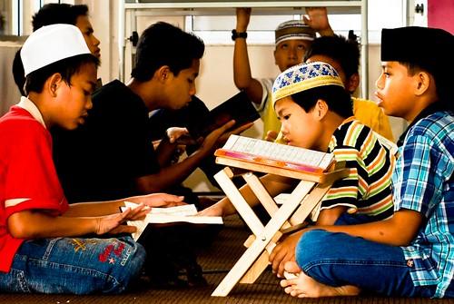 Anak-anak dan Al-Quran jangan dipisahkan