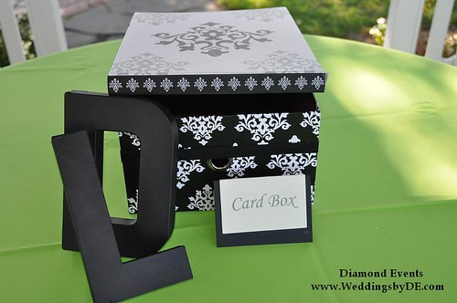 Gift Table with Card box