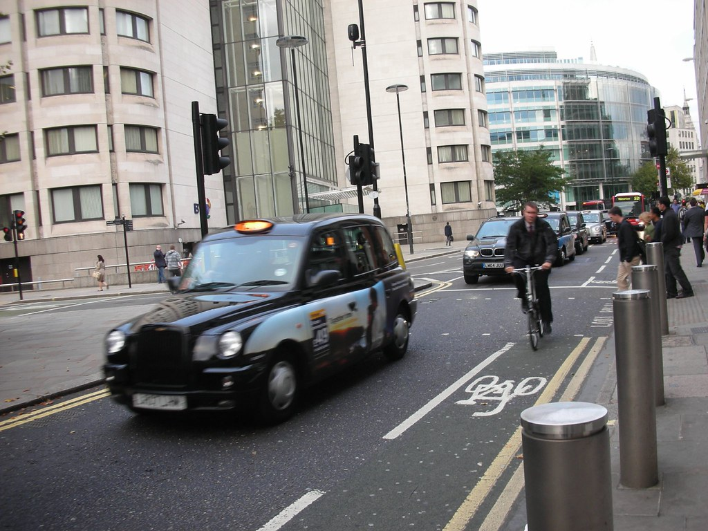 A Bike Lane in London