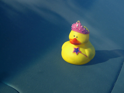 queen of the dashboard duck fairies