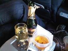 Champagne and Scotch Before Departure