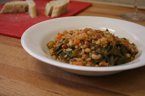 Hoppin' John, for luck