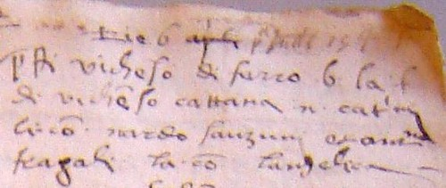 SANSONE in Codex A