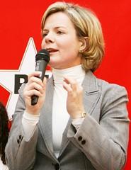 Lutando por causas justas, frente a presidência do PT por Gleisi Hoffmann