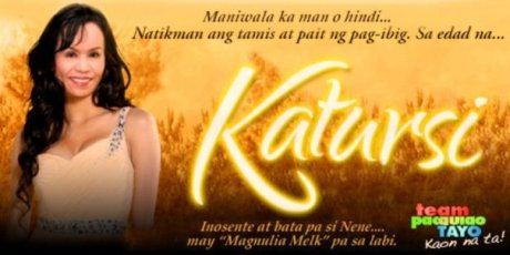 Mommy Dionesia Pacquiaos funny picture, a take on the ABS-CBN early evening teleserye, KATORSE.  She looks lovely here.