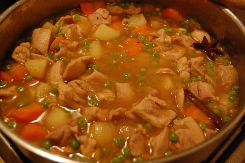 Asian-Style Chicken Stew