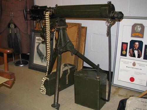 FYA 44 - Toronto Scottish Regiment - Regimental Museum - WWI - British - Vickers .303 MG - 1912