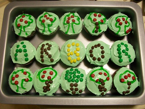Arbor Day Cupcakes