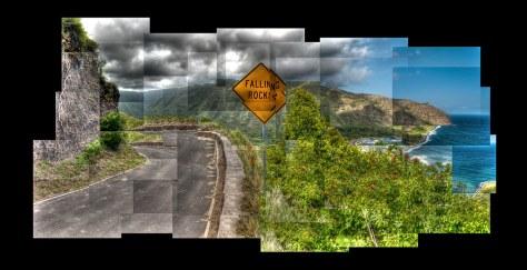 Road to Halawa Valley, Molokai, Hawaii