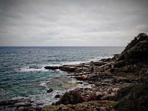 Ruina de la malul mării