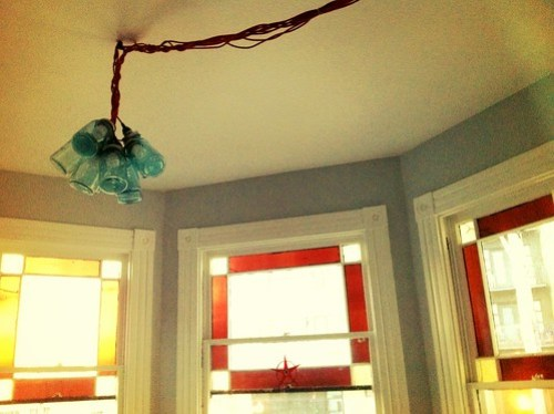 Hipster chandelier is complete.