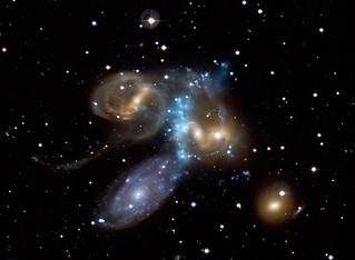 Galaxy Collision in Action (NASA, Chandra, 7/0...
